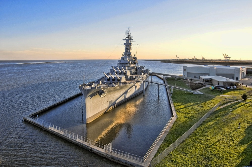 Established as a museum ship in 1965, the USS Alabama (BB-60) has since hosted throngs of curious visitors. The vessel participated in pivotal battles in the Atlantic and Pacific Ocean theaters during WWII.